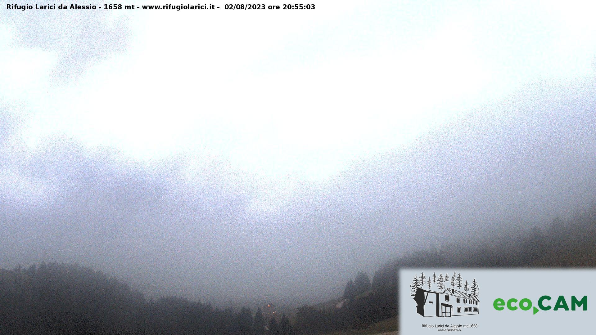 Webcam Rifugio Larici 1.658 m. (VI)